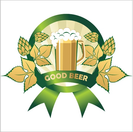 beer label Stock Vector - 14257304