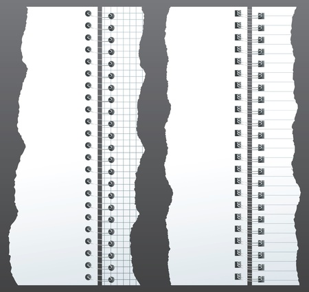 open notebook: paper binders