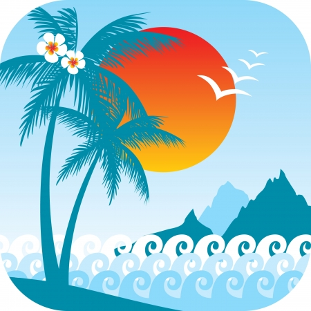 summer time background  Stock Vector - 14257271