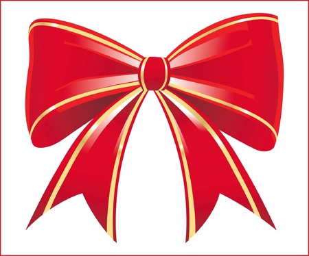 red bow Stock Vector - 14257272