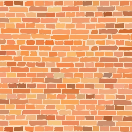 brick wall  Stock Vector - 14257276