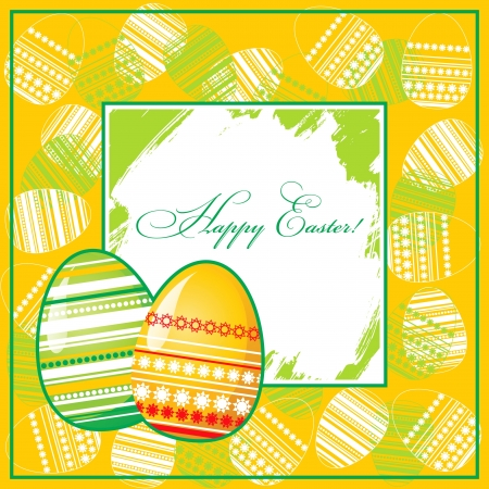 Easter background Stock Vector - 14257313