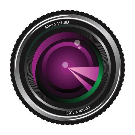 camera lens Stock Vector - 14269719