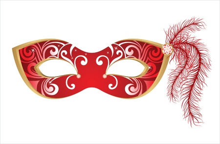 mask: carnival mask