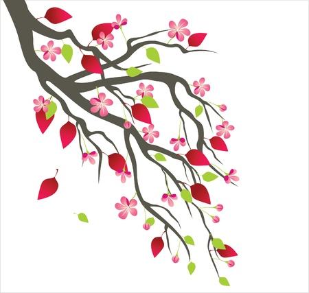 봄 나무 꽃