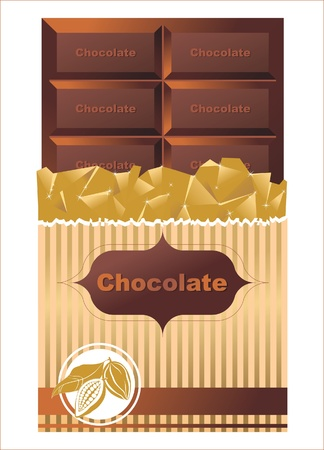 Chocolate bar Stock Vector - 14269724