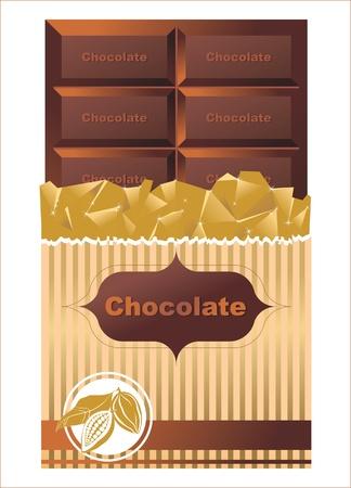 casse-cro�te: Tablette de chocolat