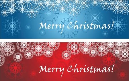 religious celebration: Christmas banners Illustration