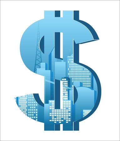 dollar sign: stylized dollar sign