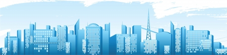 panoramic business: city banner