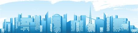 sky line: city banner