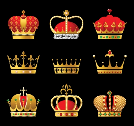 aristocracy: golden crown icons