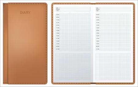 diary Stock Vector - 14269870
