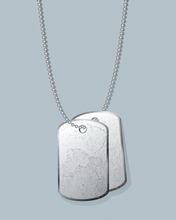 medallion: dogtag Illustration