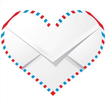 love envelope Vector