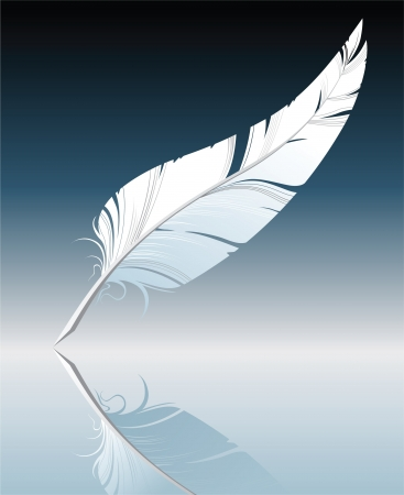 a poet: pluma