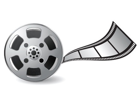 movie film reel: film reel