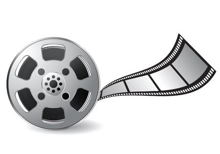 video reel: film reel