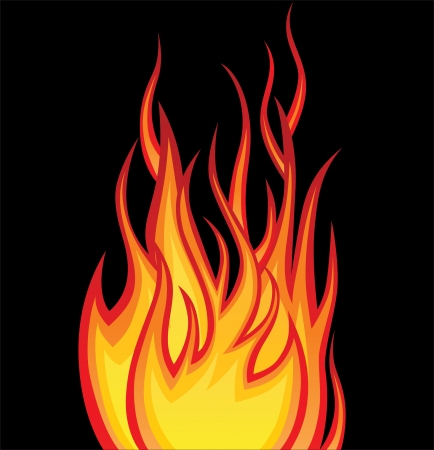 lángok: tűz