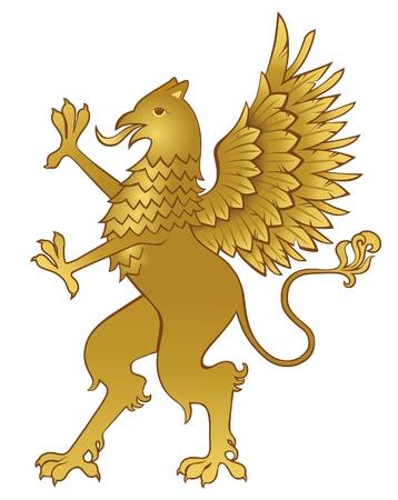 griffin: heraldic griffin
