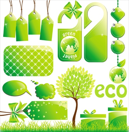 ecology desigh elements Stock Vector - 14270168