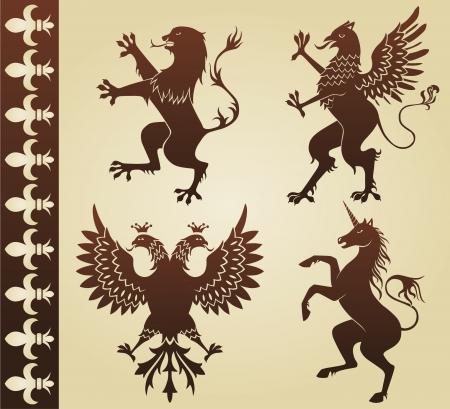 griffin: heraldic animals