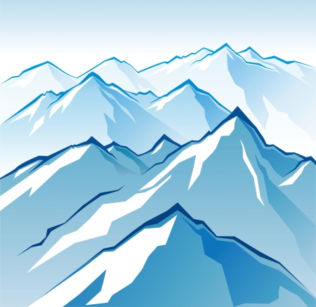 mountains landscape Stock Vector - 14270071