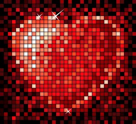 Valentine s day heart Vector