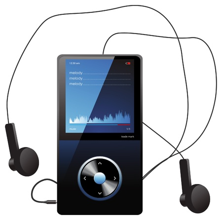 listening to music: reproductor de mp 3