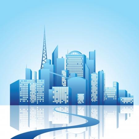 sky line: city landscape