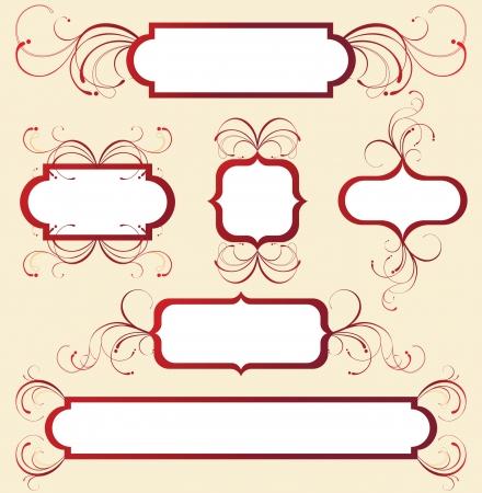 floral frames Stock Vector - 14270096
