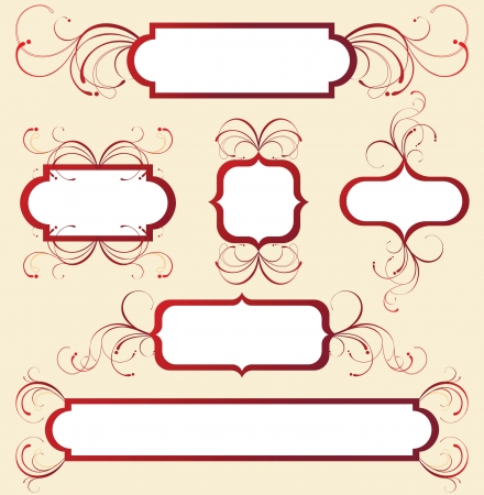 floral frames Stock Vector - 14270096