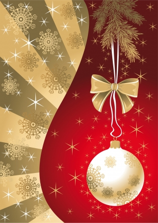 Christmas background Stock Vector - 14270160
