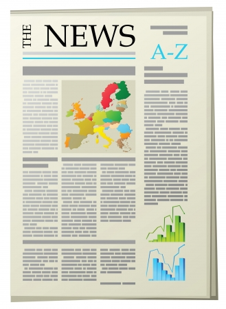 headline: newspaper