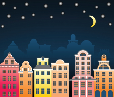 city at night Stock Vector - 14270079