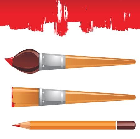 tints: painters instruments