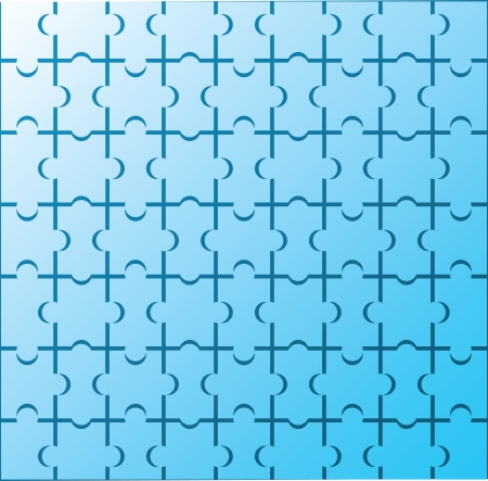puzzle background Stock Vector - 14270309