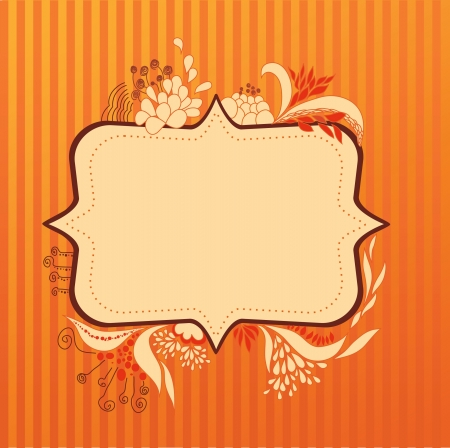 floral frame Stock Vector - 14270316