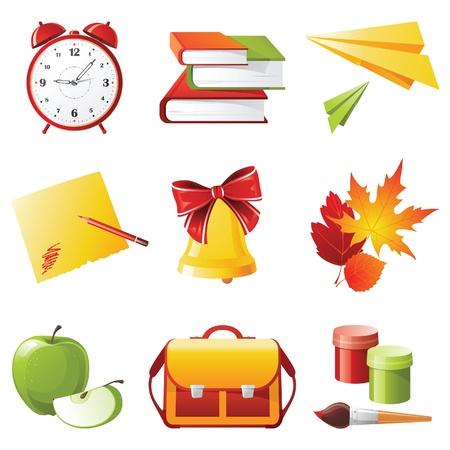 satchel: 9 colorful school icons