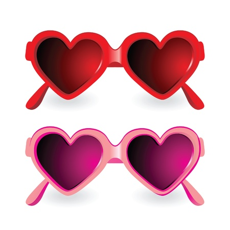 cute sunglasses Vector