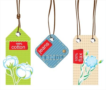 flax: textile labels