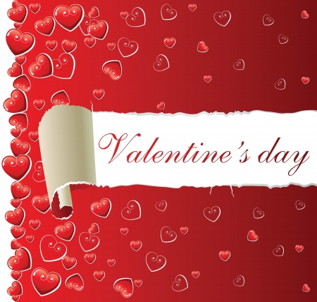 valentine s day background: Valentine s day background Illustration