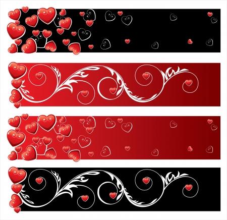 Banni�res Saint Valentin s