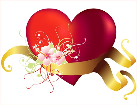 Valentine s day heart Stock Vector - 14270549