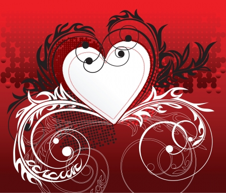 valentine's: Valentine s day background Illustration