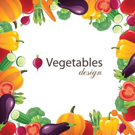 papryczki: Rama warzywa dla Twoich projektów