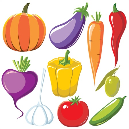 vegetables set Stock Vector - 14270541