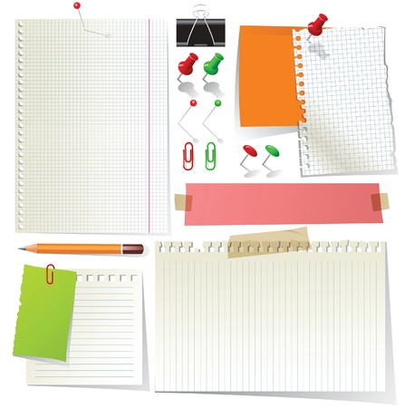 paper collection  Stock Vector - 14270569