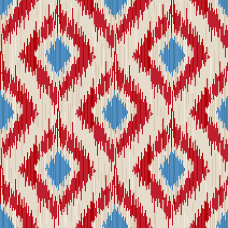 traditional ikat seamless ornament