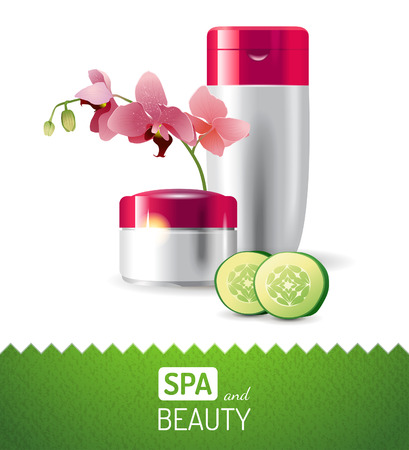 spa and beauty background Stock Vector - 26768881